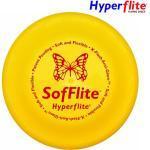 Frisbee initiation SOFFLITE Hyperflite pour chien Sofflite jaune 18 cm /70g