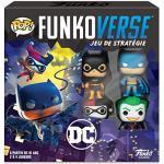 Funko- Pop Funkoverse: Gotham City Rumble Board Game, 43462, Multi Colour