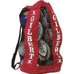 Gilbert Ballon de Rugby Respirant de Transport Rouge Rouge Taille Unique