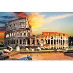 GREAT ART XXL Affiche – Colisée de Rome – Décoration Murale Visites guidées des Villes incontournable Deco Metropolis City Image Murale Motif Italie Décoration (140 x 100 cm)
