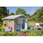 Grosfillex Abri de Jardin PVC Deco 11 Sherwood - 22911681
