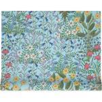 Gucci papier peint à imprimé Flora - Bleu