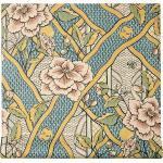 Gucci papier-peint à imprimé floral - Bleu