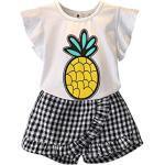 Vêtements à motif ananas look fashion pour fille