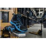 Chaussures Haix bleues en gore tex antistatiques