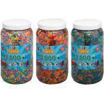 Hama Tw10377716 Set De Trois Pots De Perles À Repasser (Env. 39000)