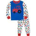Vêtements multicolores à motif tracteurs pour garçon