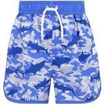 Maillots de bain bleus à motif requins pour garçon