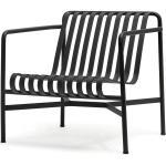 HAY - Chaise Palissade Lounge Chair Low, anthracite