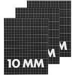HEMA 3 Cahiers 16,5 X 21 Cm - Carreaux 10 Mm