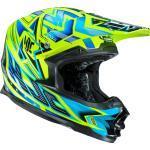 HJC FG-X Tow, casque Cross S Vert/Bleu Vert/Bleu