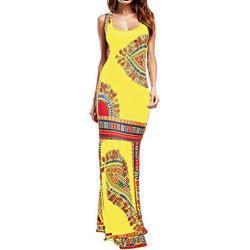 Robes en dentelle de demoiselle d'honneur jaunes maxi sans manches plus size pour femme