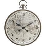 Horloge, métal verre bombé D55 cm