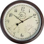 Horloge murale de station avec thermo-hygromètre 30,5 cm DEC022207