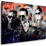 Impression sur toile tendue sur châssis Motif Depeche Mode – Images sur toile, images murales, posters, peintures pop art, tableaux décoratifs