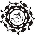 Indien Mandala Papier Peint Fleur Pvc Vinyle Salon Chambre Porte Religieux