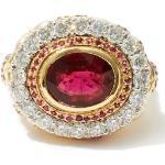 Jade Jagger - Bague en or 18 carats, diamants et rubis
