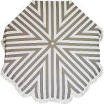 Jan Kurtz - Retro Parasol Ø 200 cm, blanc / taupe