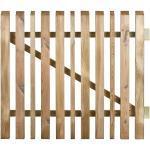 Jardipolys Portillon en Bois Traité Oblik 100x90cm (l,h) - 437