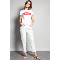 Jeans Deeluxe coupe mom pour femme