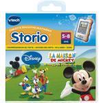 Jeux Storio et Storio 2 Vtech Mickey