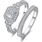 Bijoux de mariage Jewelrypalace gris plomb avec saphir look fashion pour femme