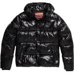 Manteaux Superdry noirs look sportif pour homme