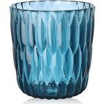 KARTELL vase JELLY (Bleu - PMMA transparent)