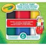 Kit créatif Crayola Acrylic Paint Couleurs primaires