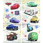 Komar 14800 Deco de Sticker, Plastique, Disney Cars, 33cm x 14cm