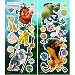 Komar 14804 Deco de Sticker, Plastique, Roi Lion, 33cm x 14cm