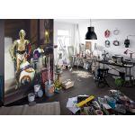 Komar 4-447 Photo Murale, Vinyle, Star Wars Droïdes de Trois, 184cm x 254cm
