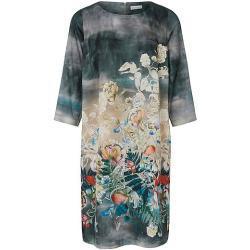 La robe manches 3/4 portray berlin turquoise