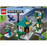 La tour du ciel, Jeu de construction pour +8ans avec figurines et maison de l'arbre transformable, Minecraft