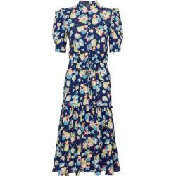 Lauren Ralph Lauren Robe-chemise bleu foncé / vert clair / bleu roi / pitaya / blanc