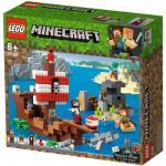 L'aventure du bateau pirate LEGO Minecraft