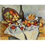 Legendarte Tableau, Impression sur Toile - La Corbeille De Pommes Paul Cézanne cm. 60x80