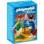 Les Playmobils aux Jeux Olympiques : le tennis de table Playmobil