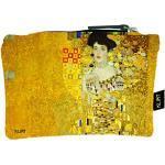 Les Trésors De Lily [R1997] - Trousse Plate Coton 'Gustav Klimt' (Adèle) - 20x15 cm