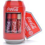 Lip Smacker - Collection Canettes Coca-Cola - Ensemble Baumes à Lèvres de Différents Parfums - Cadeau Sucré en Canette Classique de Coca-Cola à Collectionner - Emballage Cadeau de 6 Pièces
