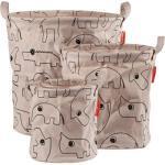 Lot de 3 sacs à jouets Contour rose Done by Deer