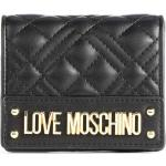 Love Moschino Quilted Portefeuille noir