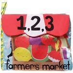 """Manhattan Toy Cahier d'activités-Marché de producteurs-Jouet pour bébé, 214390, Multicolore, 8.5"""" x 6"""" x 1"""""""