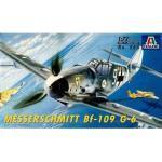 Maquette Avion : Messerschmitt Bf-109 G-6-Italeri