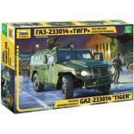 Maquette Véhicule Militaire : Gaz-233014 Tiger