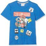 Mario Bros 174099 T-Shirt, Bleu (Bleu Bleu), Taille Fabricant: 4 Ans Garçon