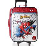 Marvel Spiderman Red Valise Trolley Cabine Rouge 35x50x16 cms Souple Polyester 31.5L 1,8Kgs 2 roues Bagage à main