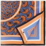 MaxMara Foulard en soie optique 90 x 90 cm