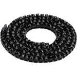 Mega Peak Hip Hop Chain 1 Series 5mm Rounded Tennis Collier