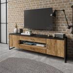 Meuble tv style industriel, Gamme factory 204 cm